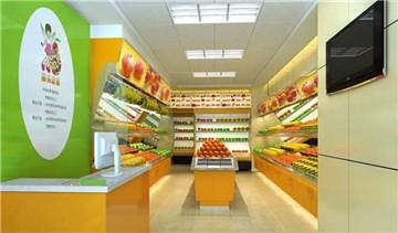 水果店装修效果图