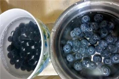蓝莓怎么洗才干净