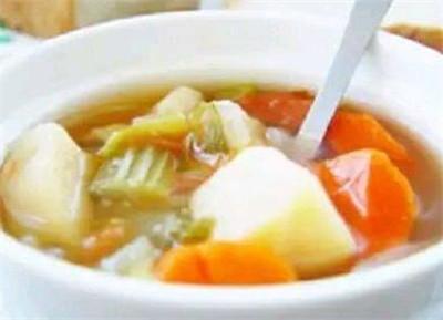 美味蔬菜汤