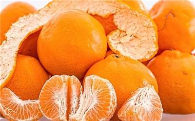 吃橘子的好处